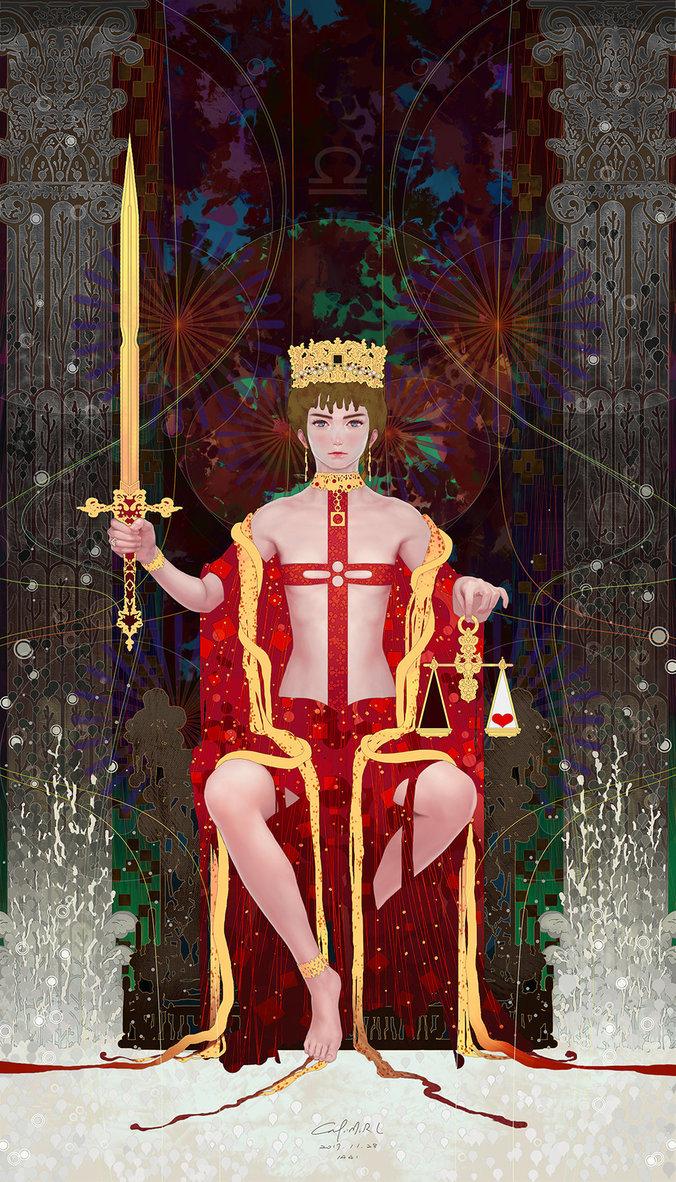 Tarot-11-Justice