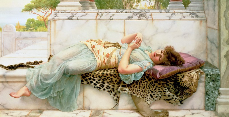 John William Godward- The Betrothed