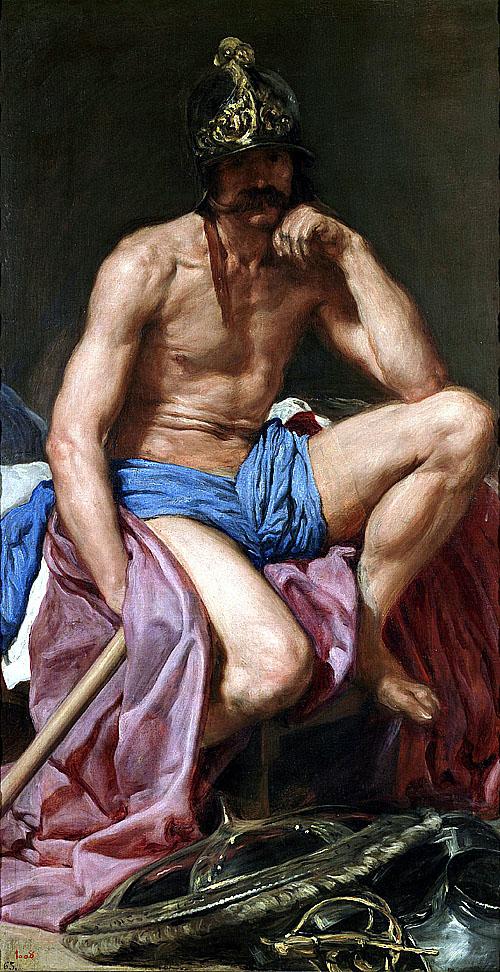 維拉斯奎茲 Velazquez Diego戰神 The God Mars