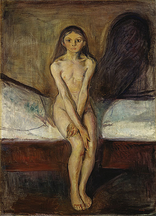 孟克 Munch Edvard青春期 Puberty