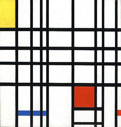 紅,黃,藍的構成