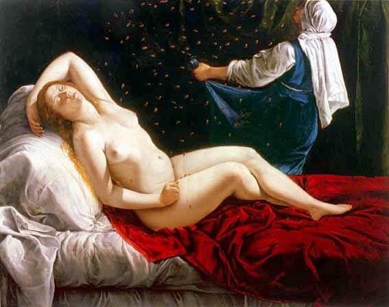 Danae-Artemisia Gentileschi