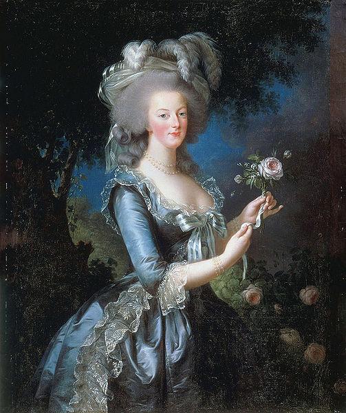 Marie Antoinette by Élisabeth Louise Vigée LeBrun